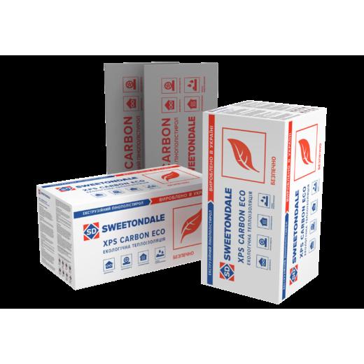 Пінополістирол екструдований XPS SWEETONDALE CARBON ECO XPS CARBON ECO FAS/2 1180Х580Х50