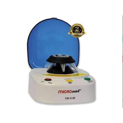 Центрифуга СМ-8.06 MICROmed для мікропробірок Еппендорф