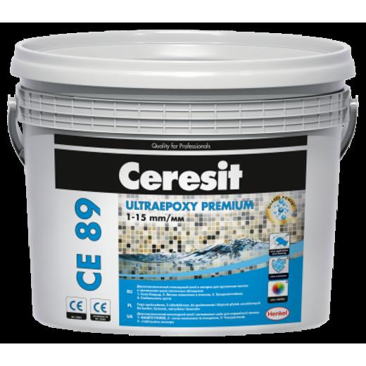 Ceresit CE 89 Ultraepoxy Premium Епоксидний двокомпонетний заповнювач швів та клей для плитки 814 натуральний кварц