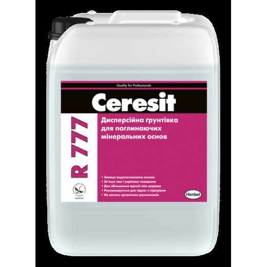 Ceresit R 777 Дисперсійна грунтівка для поглинальних основ для їх просочення та укріплення