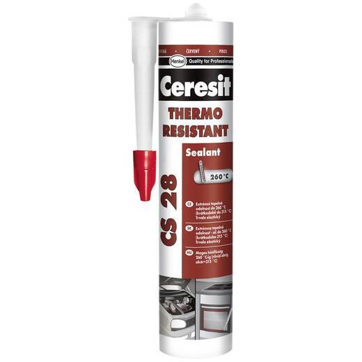 Ceresit CS28 (черв) Ceresit CS28 280мл герметик терм. (черв)