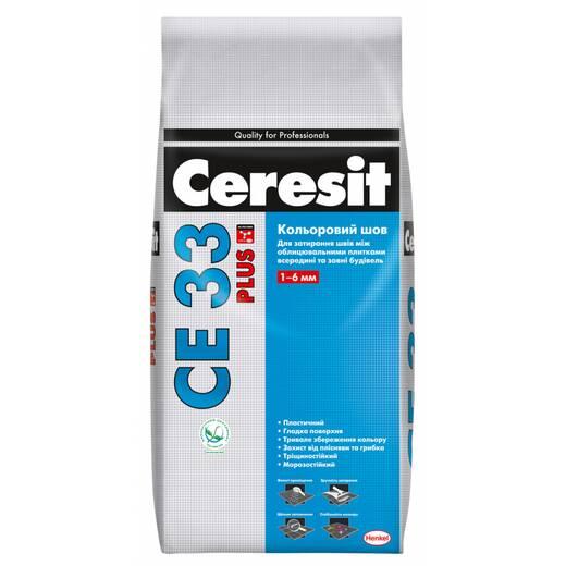 Ceresit CE33 Plus Кольоровий шов до 6 мм 110 світло-сірий