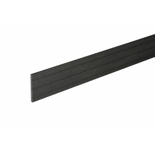Цокольна планка 2400х60 мм колір Чорний