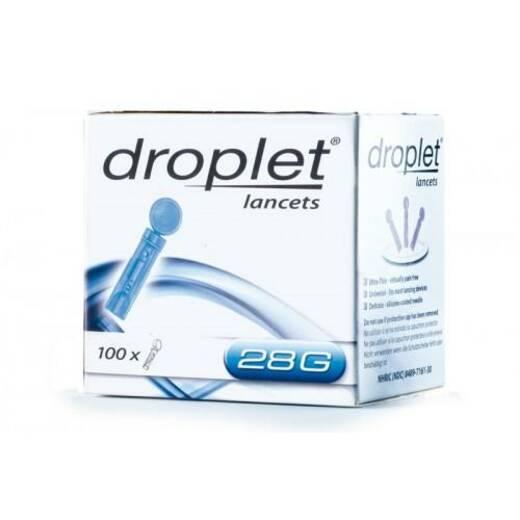 Ланцеты Droplet 28G, 100 шт.