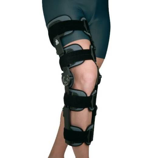 Ортез колінного суглобу з обмежувачем згинання-розгинання, високий
