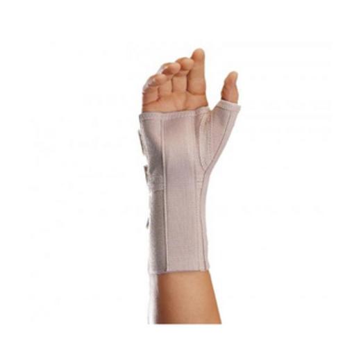 Еластичний ортез променево-зап'ястного суглобу і першого пальця кисті з шинами