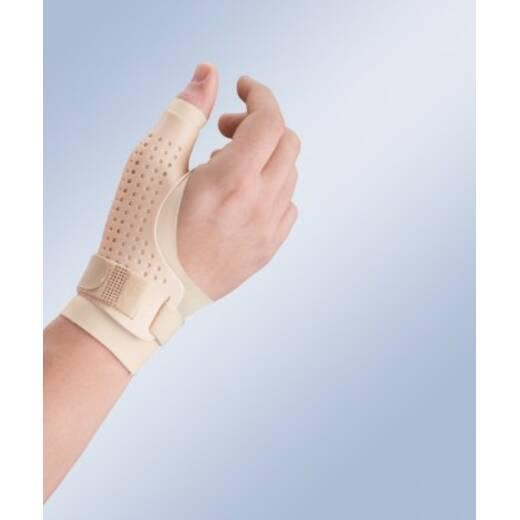 Пластиковий ортез великого пальця кисті з дихаючого матеріалу з фіксацією
