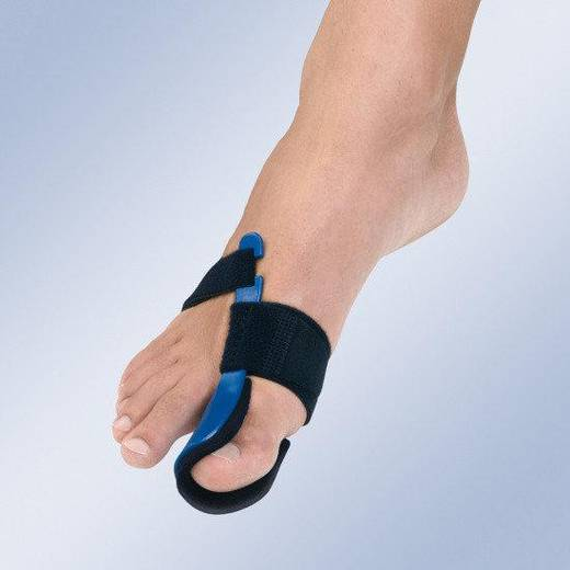 Шина першого пальця стопи з пластиковим підсиленням