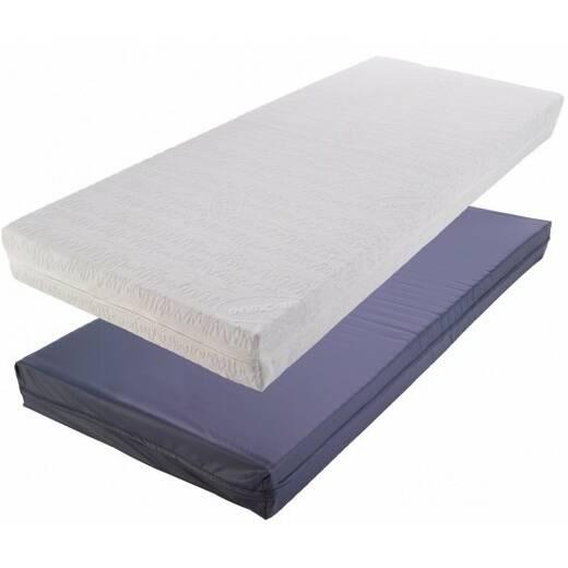 Противопролежневый матрас Invacare Basic, синий влагонепроницаемый чехол 195х88х14 BasicINVACARE