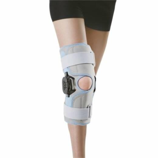 Бандаж поліцентричний  шарнірний на колінний суглоб