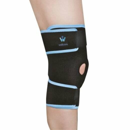 Бандаж на колінний суглоб з затяжками