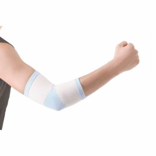 Бандаж для ліктьового суглоба еластичний з силіконовою вставкою Wellcare