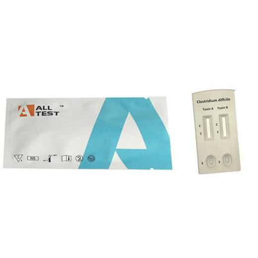 Швидкий тест Clostridium difficileGDH+ Toxin A +Toxin B комбо