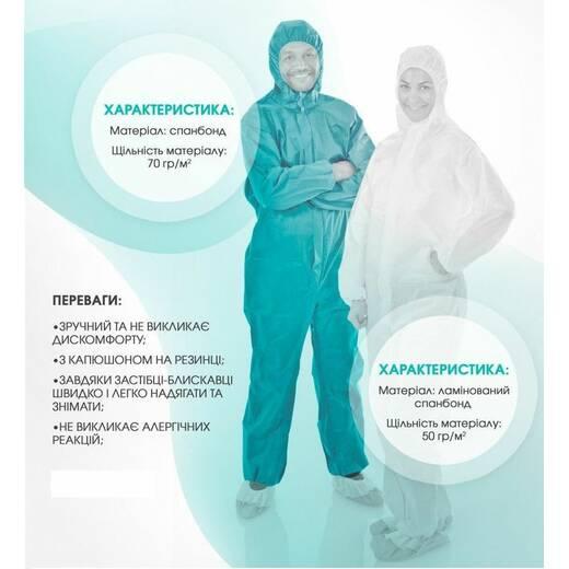Защитная одноразовая одежда