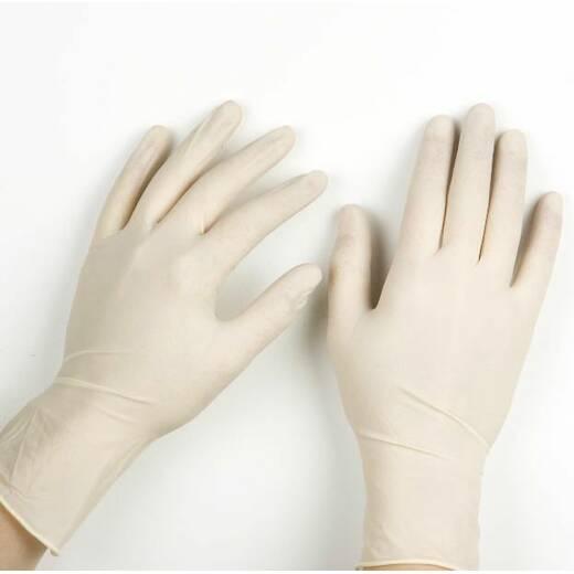 Перчатки латексные S