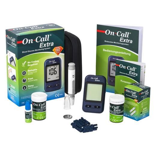 Система контролю рівня глюкози кровіOn-Call Extra