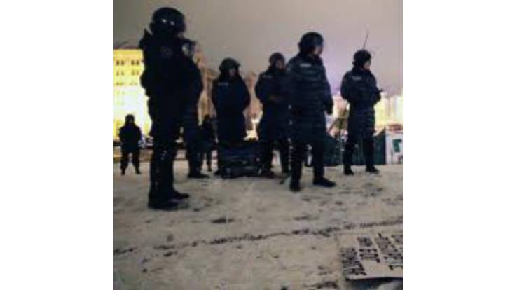 Міліція охороняє пустий Майдан. Підприємці не вийшли на страйк