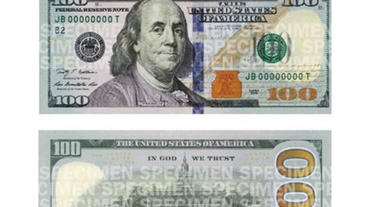 У США зупинили друк 100-доларових купюр