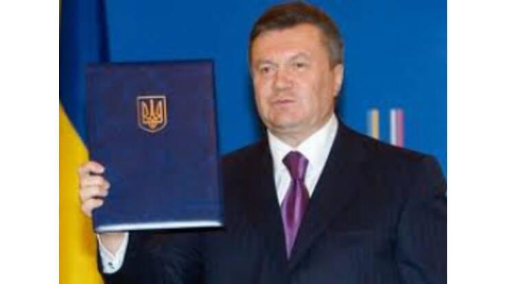 Yanukovych Put His Signature Under The Budget 2011