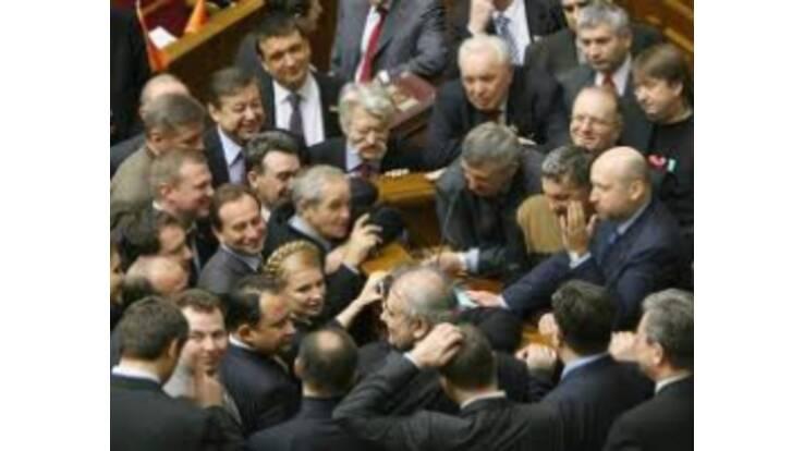 Соратники Тимошенко заблокували Верховну Раду