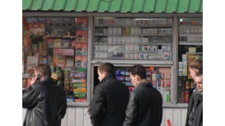 Алкоголь и табак больше не будут продавать в киосках