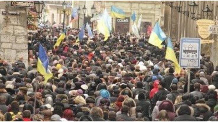 Львівські підприємці підійшли до акції протесту творчо