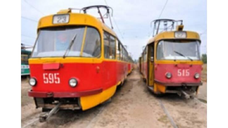 В Харькове остановились все троллейбусы и трамваи