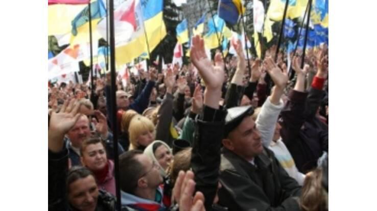 Социологи отмечают рост революционных настроений в Украине