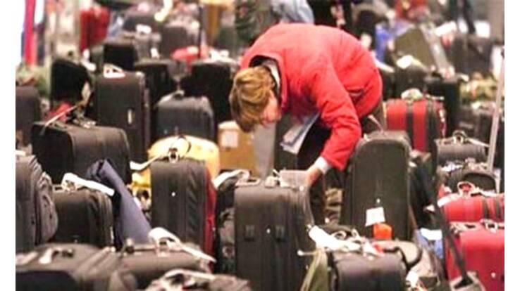 В Домодедово пассажиры погубили свой багаж