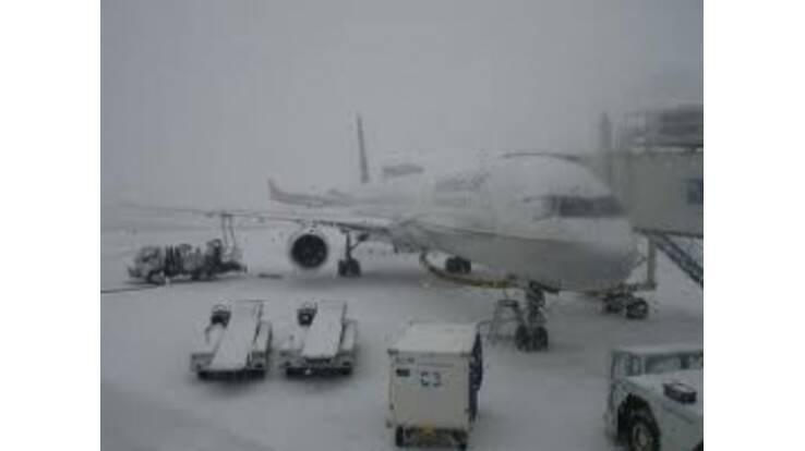 Одеський аеропорт закриличерез обмерзання злітних смуг
