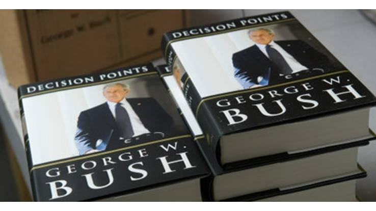 Мемуари Буша стануть бестселером?