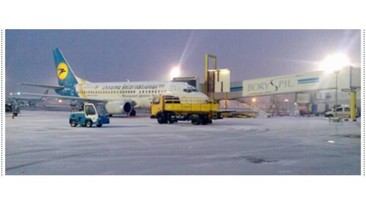 """Борисполь """"не летает"""". Плохая погода нарушила режим авиасообщений"""