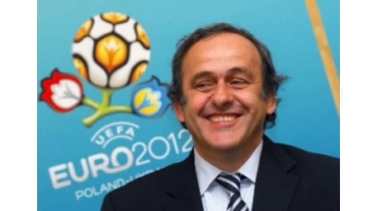 Platini praised Ukraine and Poland for Euro 2012 preparation