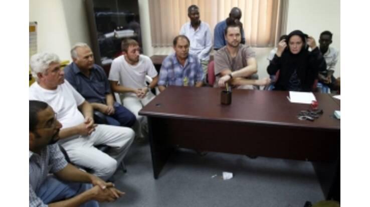 Ливия отпускает украинских пленных
