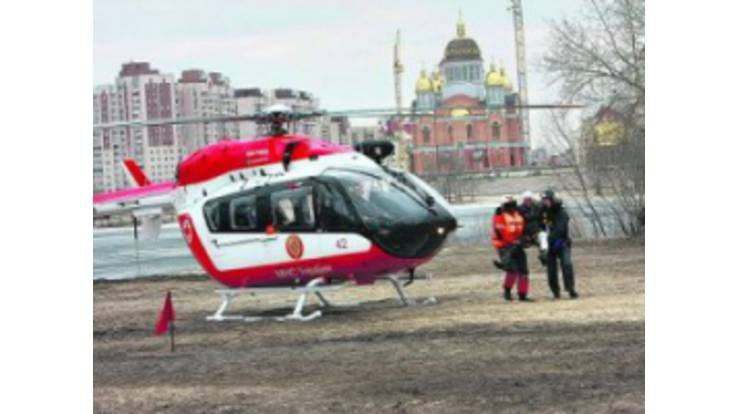 First aid helicopters - innovation from the Kyiv authorities