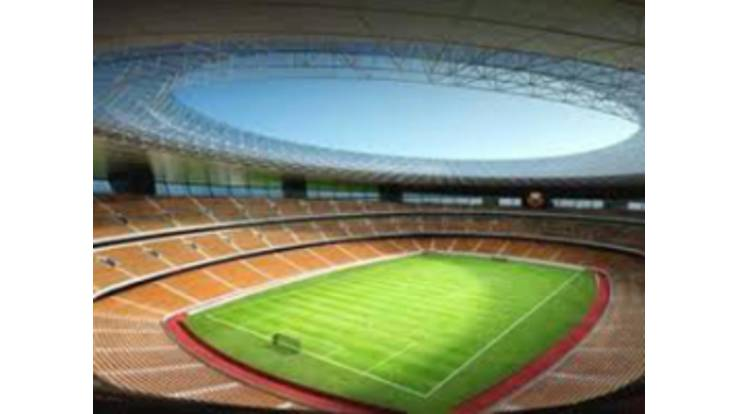 The opening of the stadium was suspended due to financing
