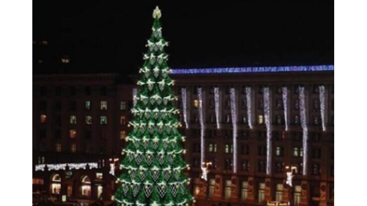На новорічну ялинку Київ витратить 3 мільйони