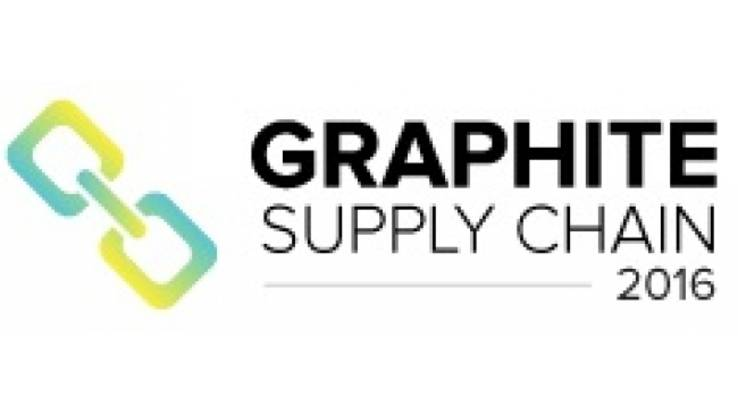 Come and meet us on GRAPHITE SUPPLY CHAIN 2016 CONFERENCE, 13-15 November 2016, Newport Beach, US