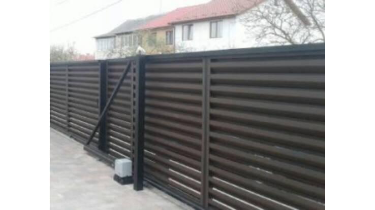 Відтепер у компанії А-Квадрат можна замовити горизонтальний паркан жалюзі!