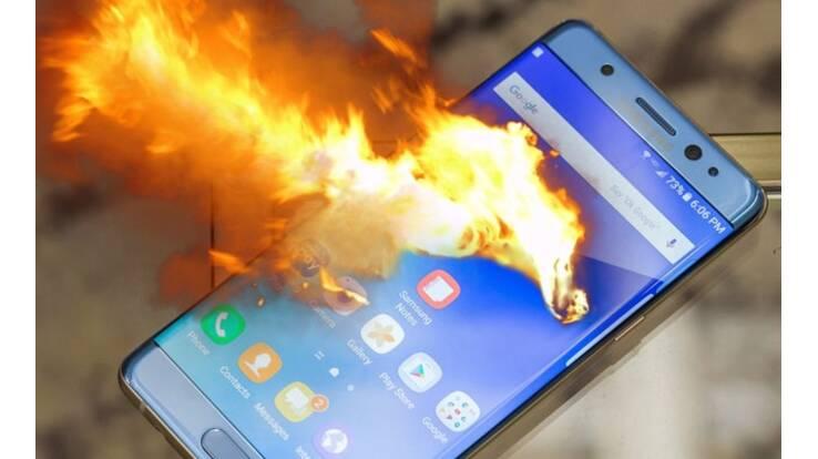 Samsung остановила продажи Galaxy Note 7 из-за угрозы взрыва