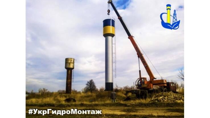 Водонапорная башня Рожновского - стабильное водоснабжение за низкую цену