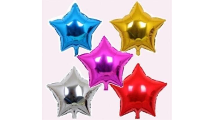 Кульки різної форми та кольору в наявності