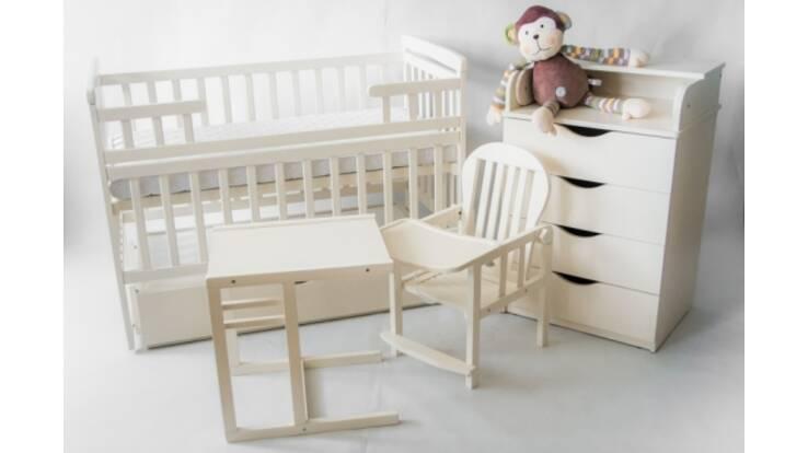 Комод детский с пеленальным столиком, кроватки и стулья для кормления от ТМ DeSon: качественная детская мебель от отечественного производителя!
