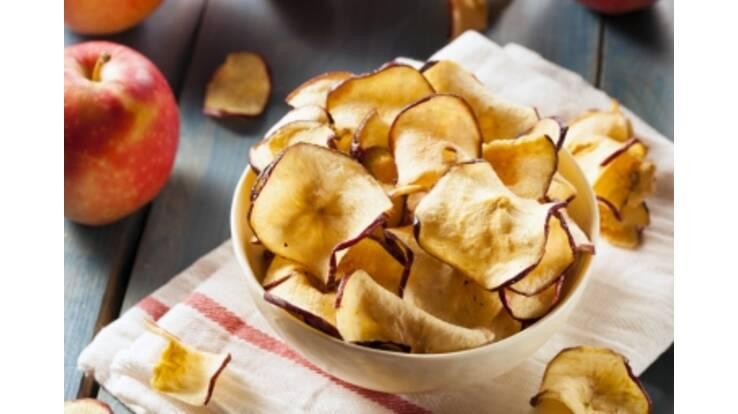 Увага! Важлива інформація для любителів здорових перекусів – у нас можна купити низькокалорійні чіпси з фруктів!