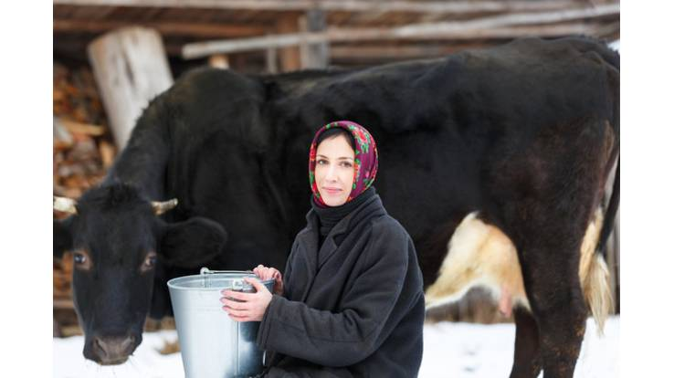 В сельском хозяйстве женщины оказались эффективнее мужчин