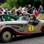 У Львові влаштували перегони на ретро-авто