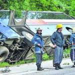 Український автобус перекинувся в Румунії. Постраждало 46 дітей