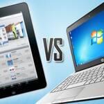 Планшеты vs ноутбуки: кто кого?
