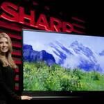 Новые модели телевизоров Sharp представлены на выставке CES 2013