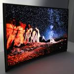 Samsung представил первый в мире изогнутый OLED телевизор